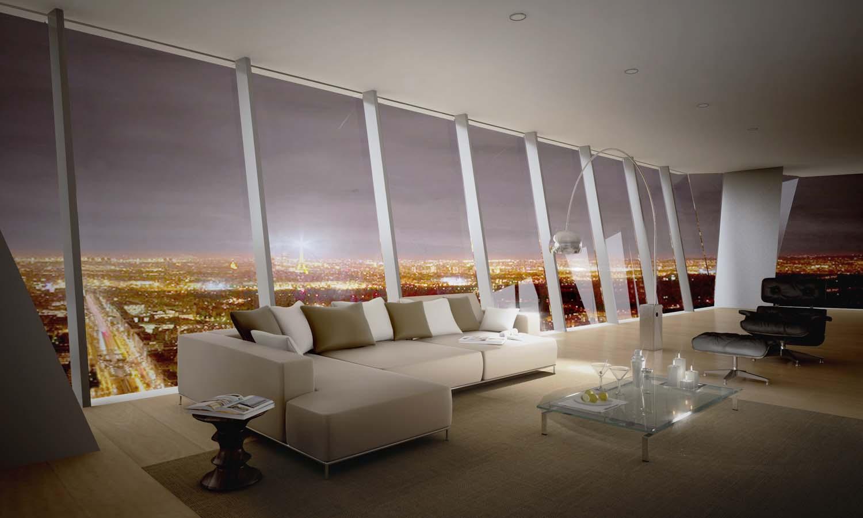 location appartement de luxe
