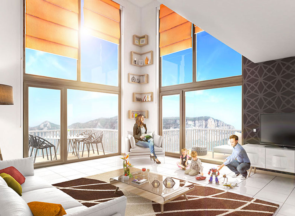 location appartement grenoble presqu 39 ile. Black Bedroom Furniture Sets. Home Design Ideas
