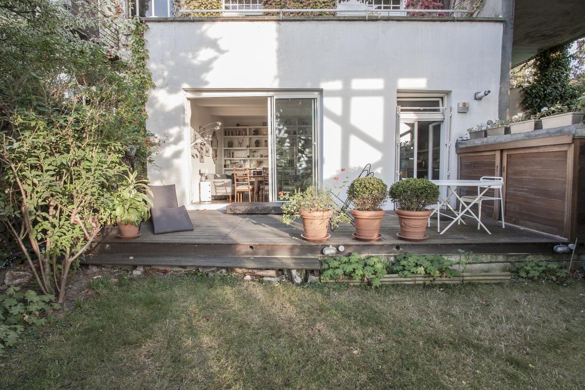 location appartement jardin