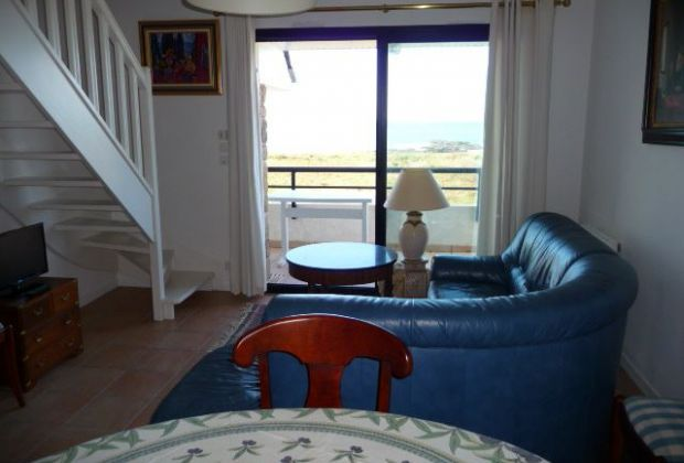 location appartement quiberon vue mer