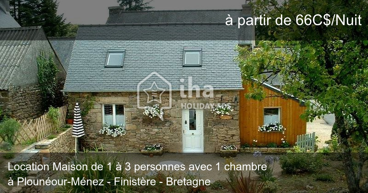 location maison 1 nuit finistere
