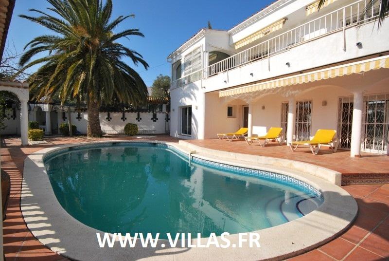 Location maison 2 personnes avec piscine privee a rosas - Maison location espagne avec piscine ...