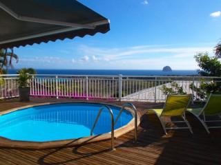 Location de maison de vacances en martinique avec piscine