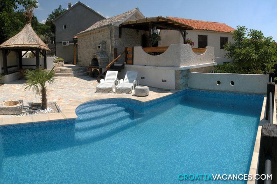 location maison croatie