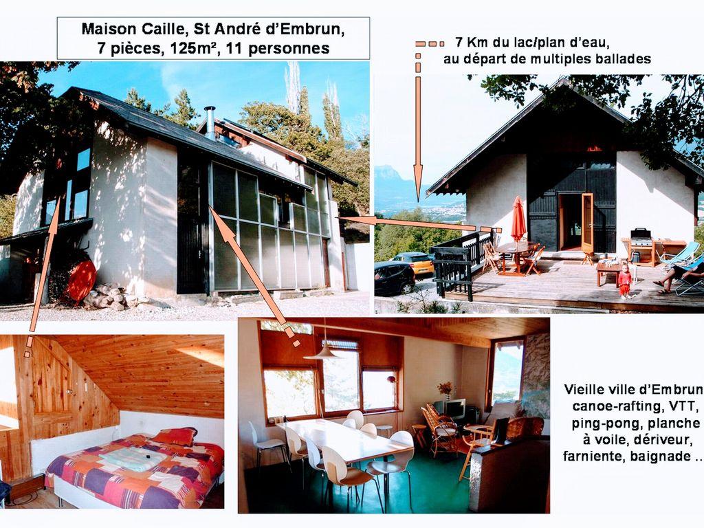 location maison embrun