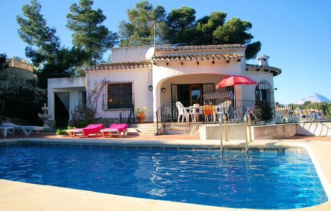 Location maison javea espagne for Site de villa a louer