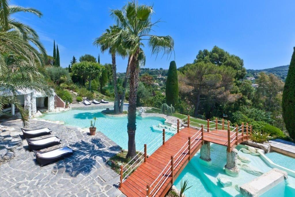 location maison mougins