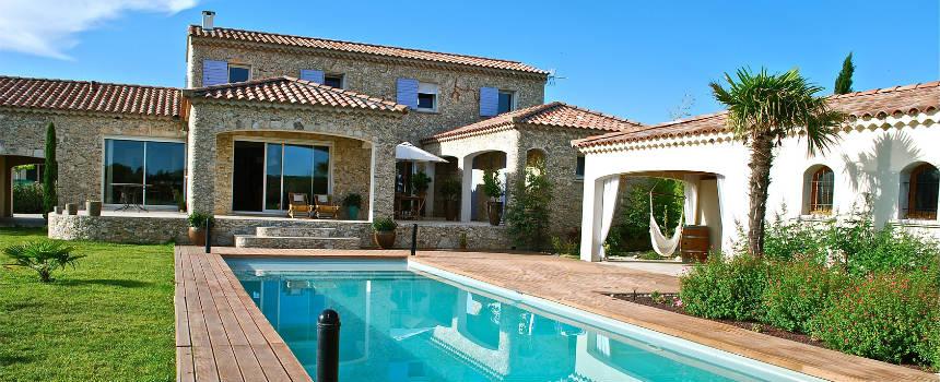 location maison piscine