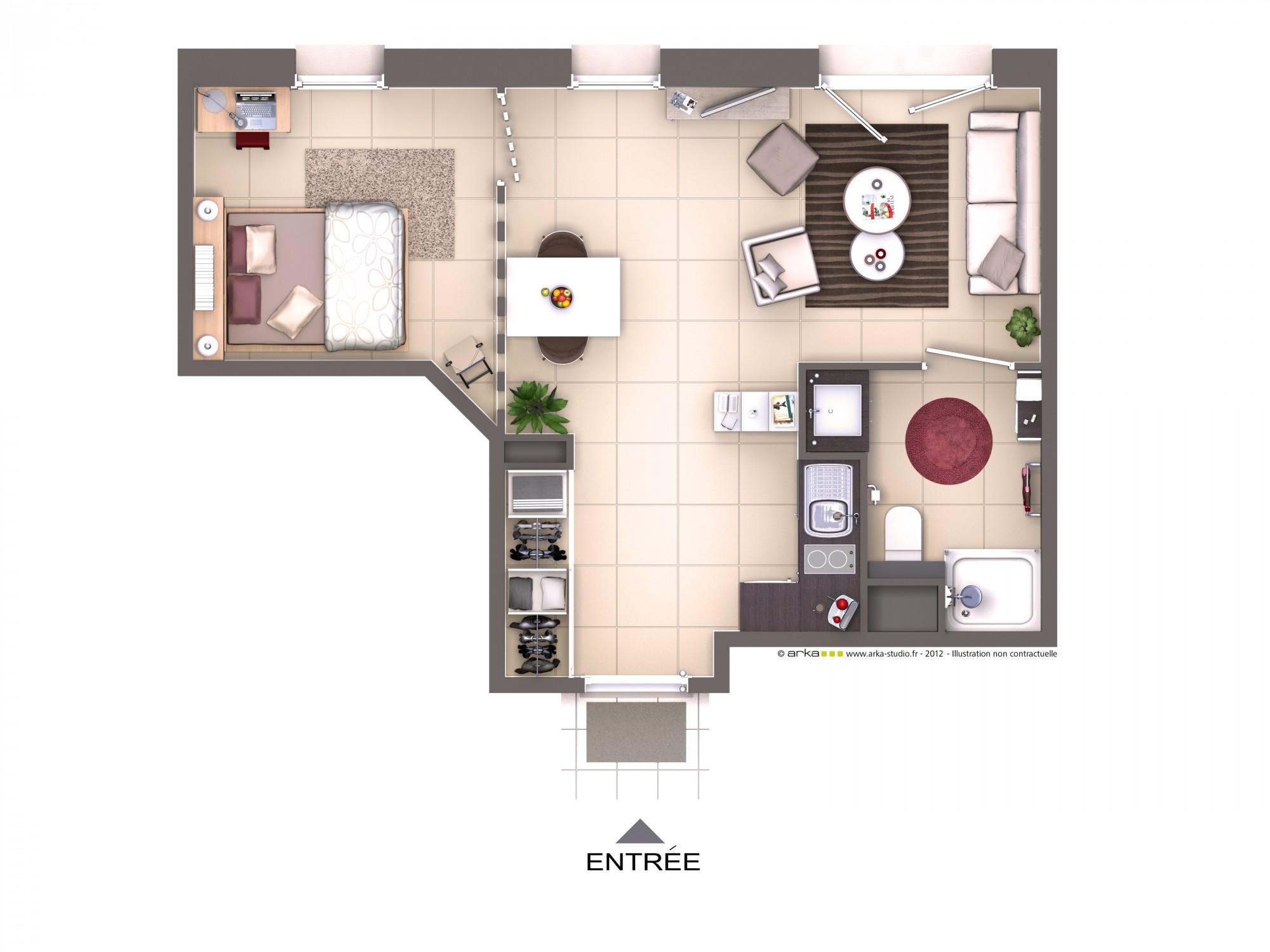 location appartement un jardin sur la terre lyon