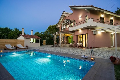 location maison zante